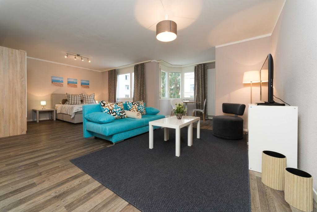 Kobalt U2013 1½ Room Studio Apartment In Zurich