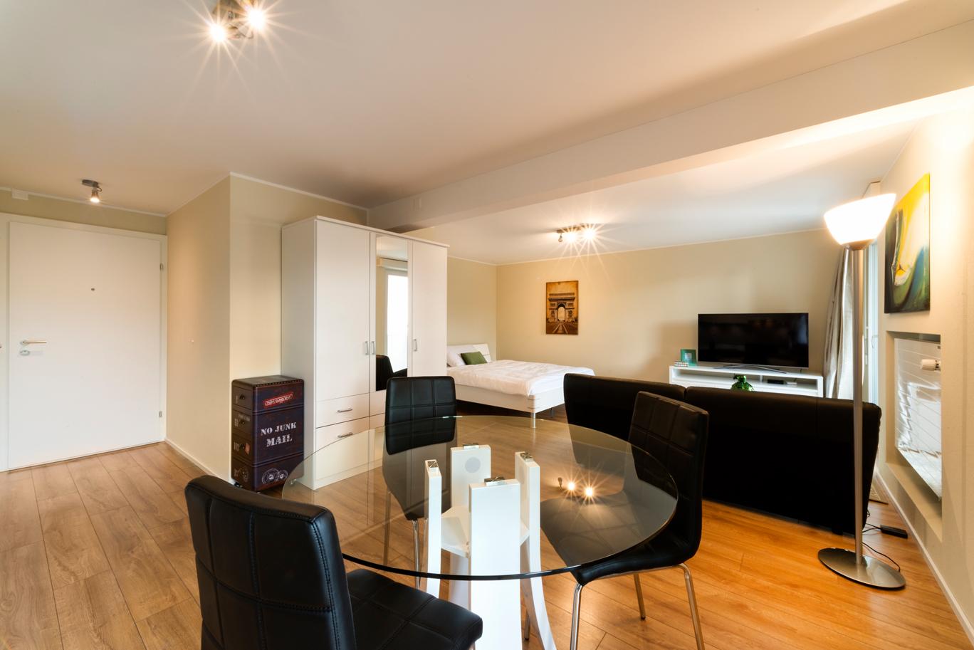 mercury 1 5 zimmer apartment in wallisellen reloc. Black Bedroom Furniture Sets. Home Design Ideas